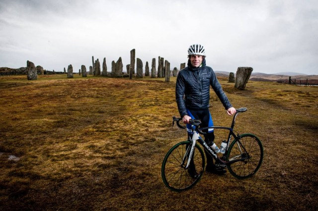 Mark Beaumont Callanish Hebridean Way Cycling Route