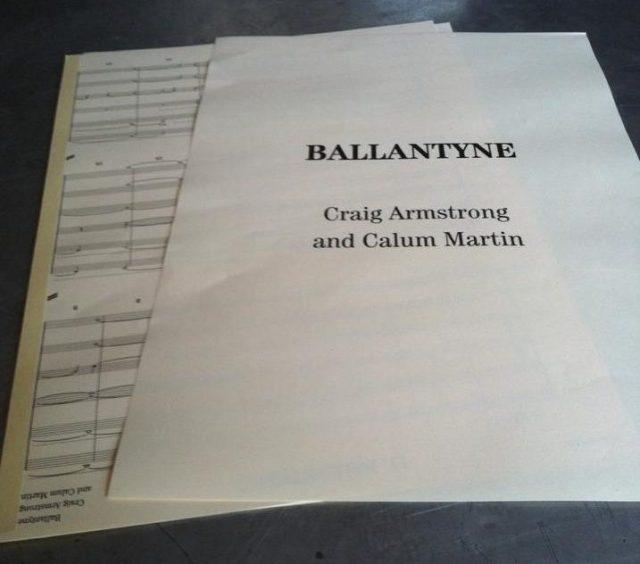 Ballantyne score by Craig Armstrong and Calum Martin