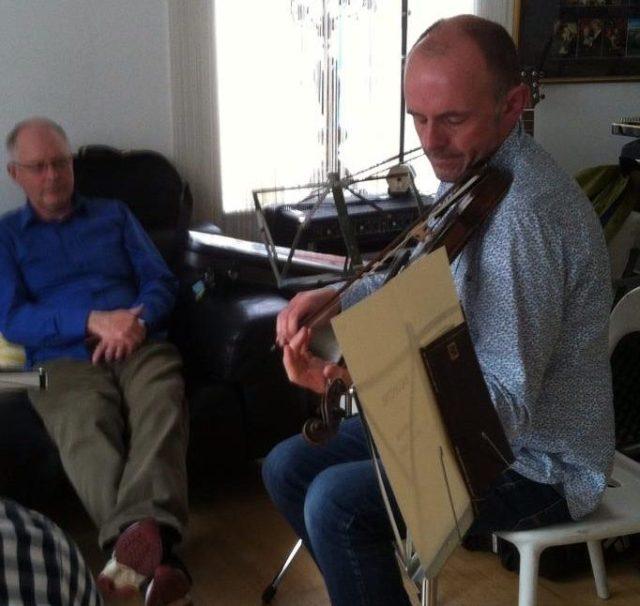 Duncan Chisholm and Calum Martin on Ballantyne