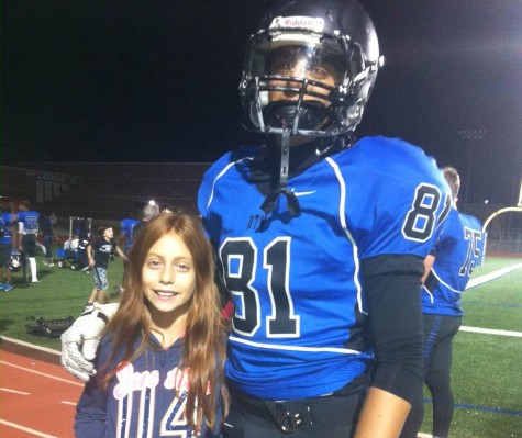 Gutierrez gets support from his family at all his games, and his sister Lilly is a regular attendee. Provided photo.
