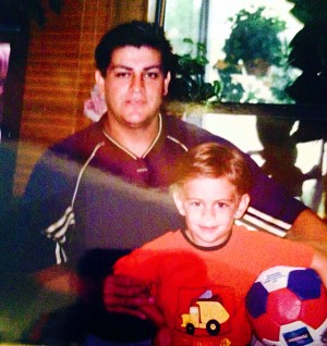 A sports enthusiast from an early age, Gutierrez was involved with several sports and had the support of his dad. Provided photo