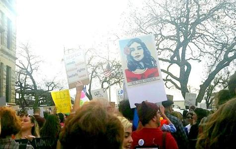 Rallying for women's rights