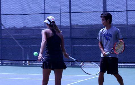 Varsity tennis ends fall season with loss to Southlake