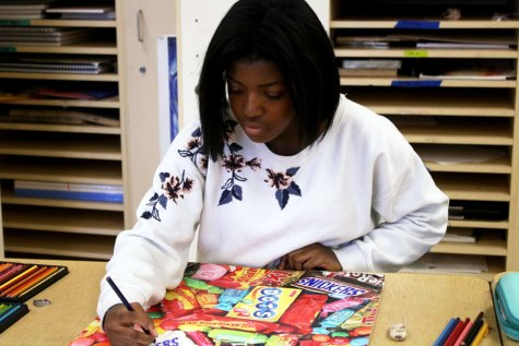 Senior enjoys her fifth year teaching special needs children