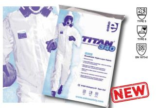Titan 340 Disposable Coveralls - Category III Type 5,6