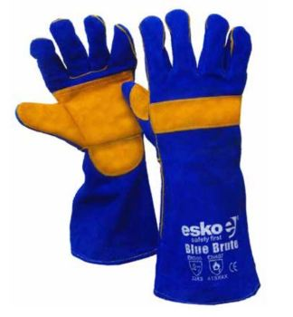 Blue & Gold Kevlar Blue Brute Glove