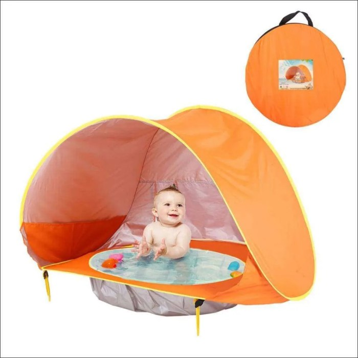 Portable Baby Beach Tent