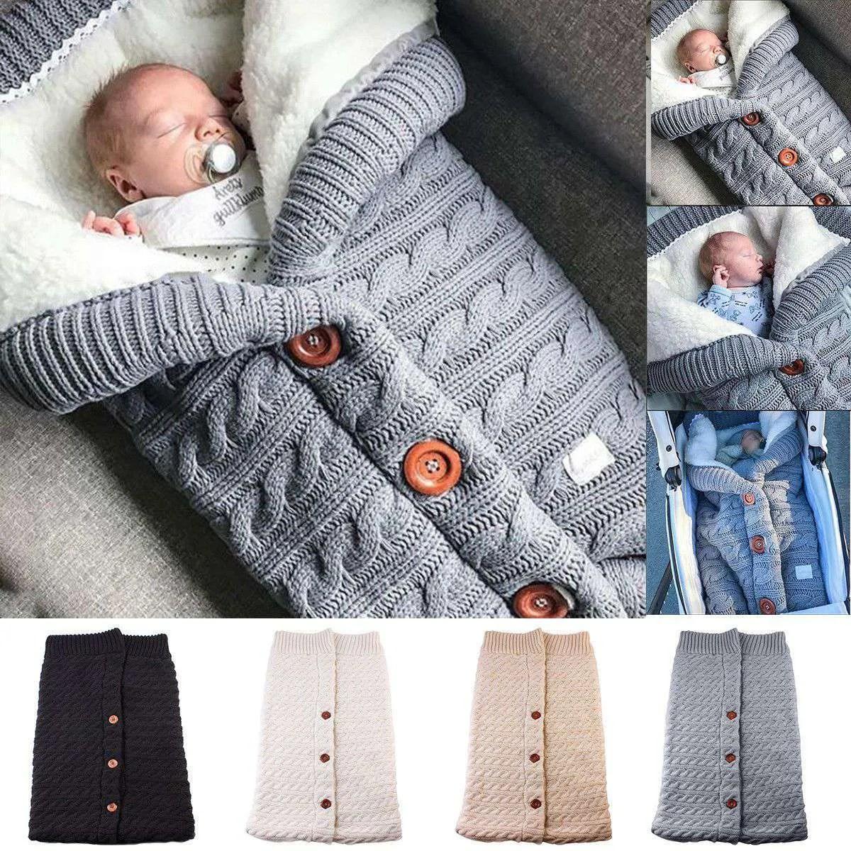 Newborn Baby Winter Warm Sleeping Bags