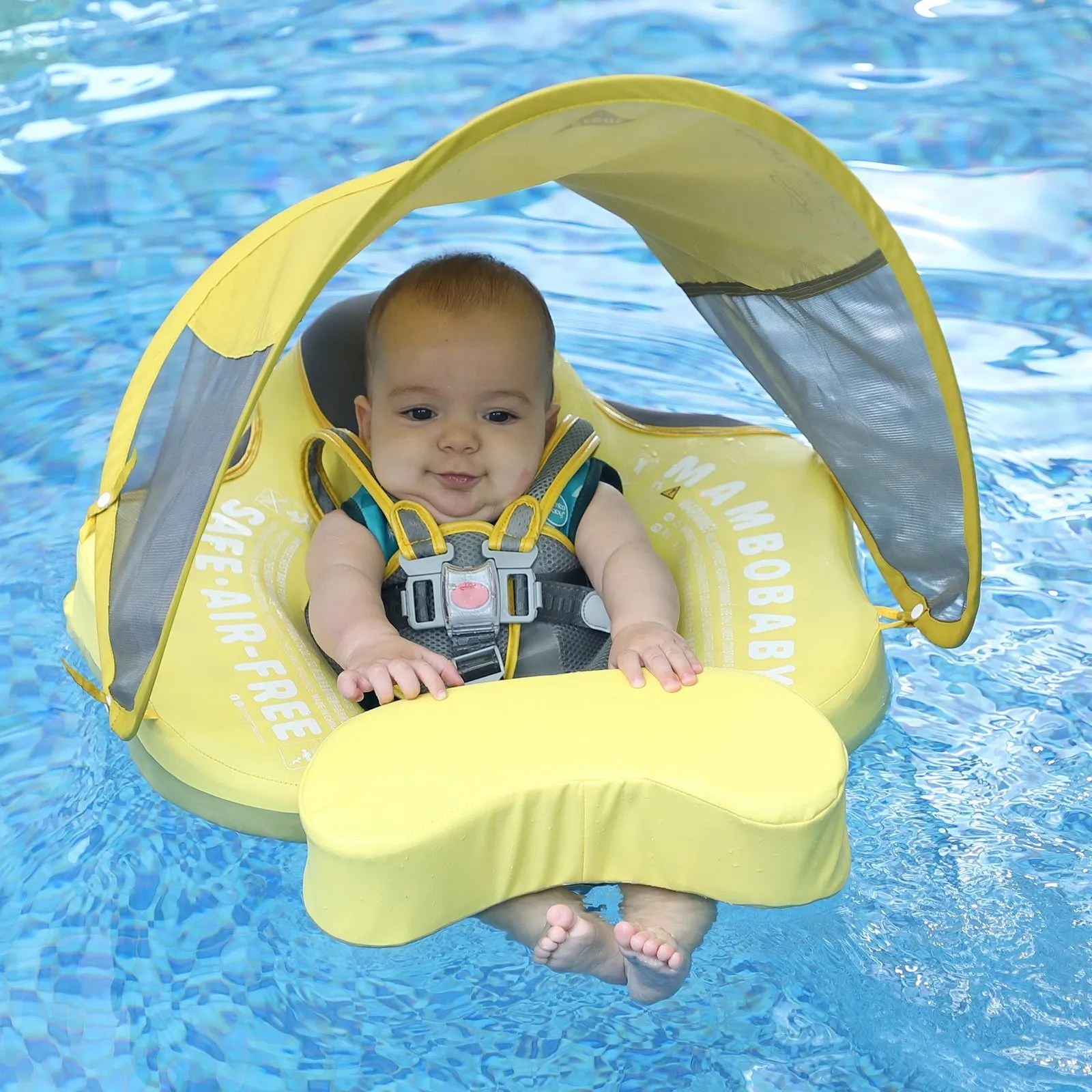 mambobaby float duck with canopy and tail 1