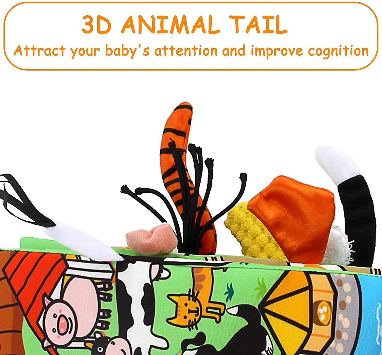 baby soft toys cloth book set