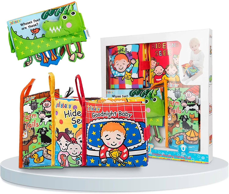 Baby Soft Toys Cloth Books set