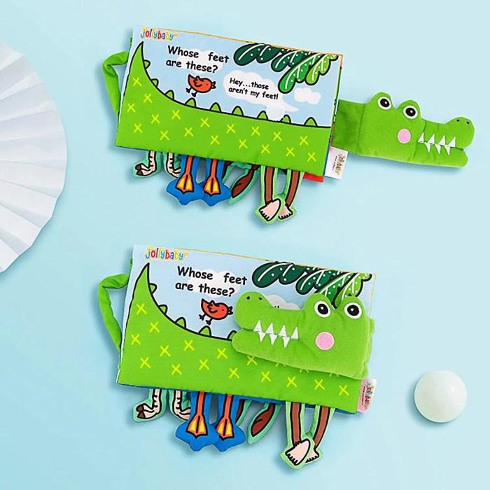 Baby Soft Toys Cloth Books-dinosaur