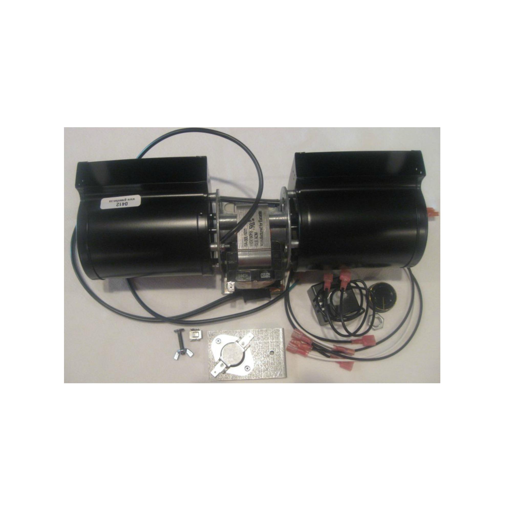 Gas Fireplace Fan Kit Blower Heat N Glo Gfk 160a