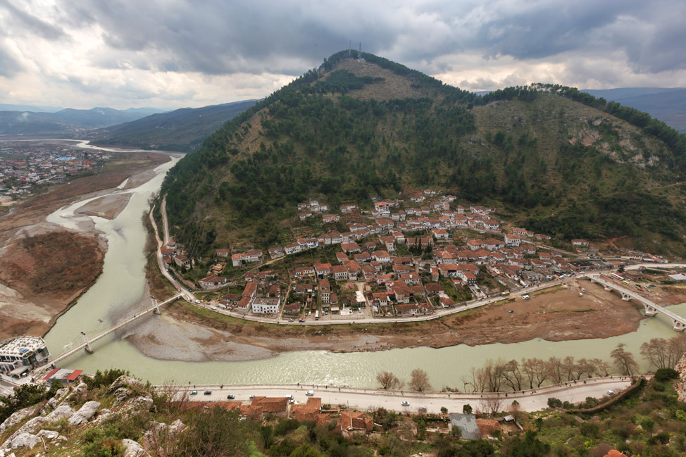 View of Berat from Above