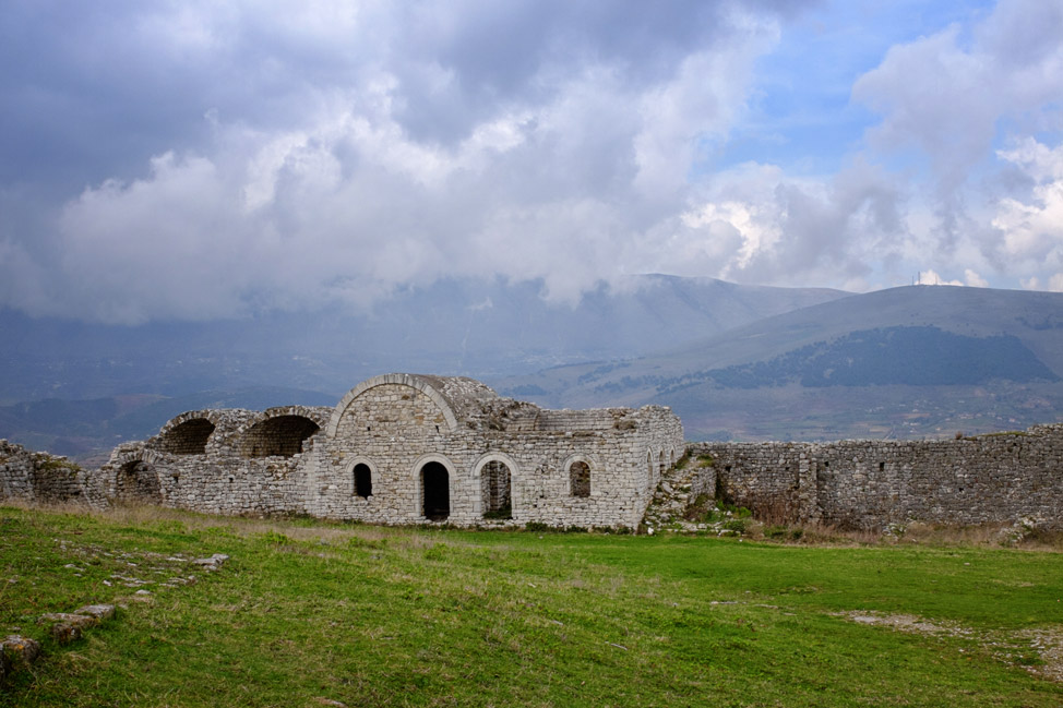 Berat Stone Walls