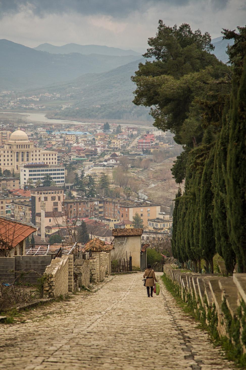 Road to Berat