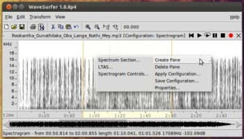 WaveShop' is a Free Audio Editor for Windows (Portable)