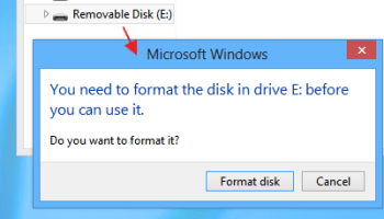My Newly Formatted ('Ext4') External Hard Disk is Busy, Even