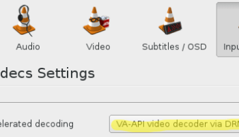 Use 'ALSA' Audio Output in VLC to Lower the CPU Usage