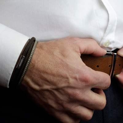 bracelet triton pour homme porté