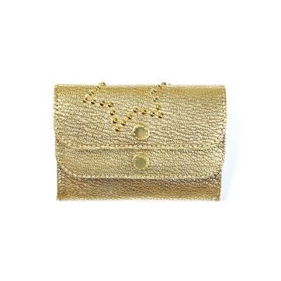 porte-cartes huppe étoilé or