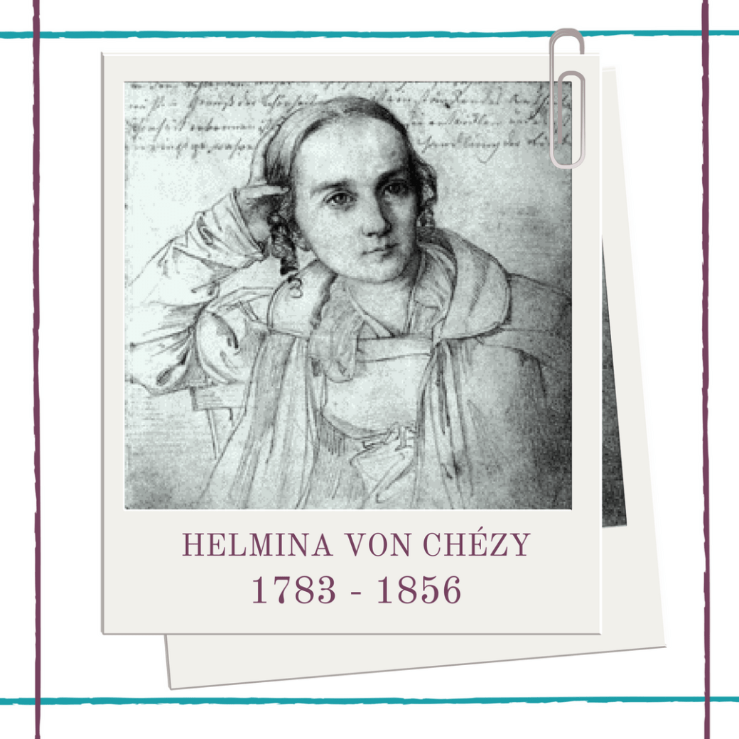 German woman playwright Helmina Von Chézy biography at Hedda House.