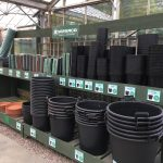 small pots and garden supplies from hedgehogs nursery