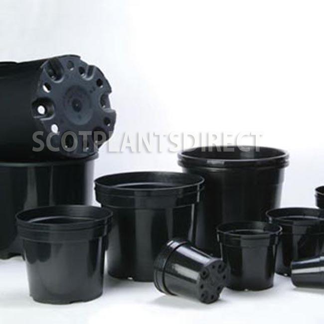 2-10 Litre Round Plant Pots