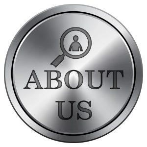 Metallic About Us Icon