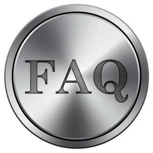 Metallic FAQ icon