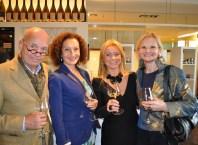 Drehbuchautor Peter Mazzuchelli , Konstanze Breitebner, Beatrix Drenning und Hedi Grager (Foto Reinhard Sudy)
