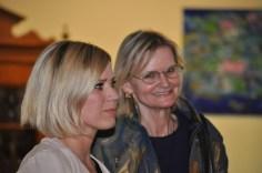 Johanna Setzer und Hedi Grager (Foto Reinhard Sudy)