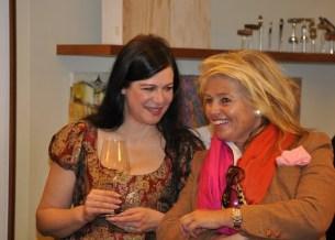 Natalia Ushakova und Monika Studer (Foto Reinhard Sudy)