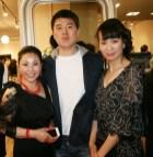 GIOIA Besitzer Xu Xiao Qin, Lin Hang Liang und Chen Shunjing (Foto Christina Dow)