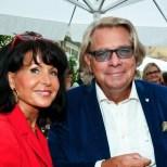 Dr. Ansgar M. Sommer mit seiner Gattin (Foto Werner Krug)