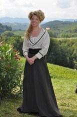 Karin Lischka spielt Käthe Kruses Freundin (Foto Reinhard Sudy)