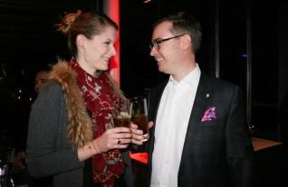 Caroline List und Klaus Weikhard (Foto Christina Dow)