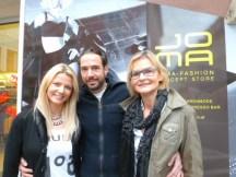 Manuela und Markus Jocher mit Hedi Grager (www.hedigrager.com)