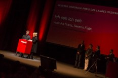 Preisverleihung im Grazer Orpheum (Foto Diagonale/Klaus Pressberger)