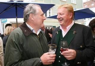 Gerhard Koch mit Franz Grossauer (Foto Christina Dow)