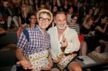 Viele Prominente bei Designerin Lena Hoschek - Mercedes Benz Fashion Week Berlin 2015 (Foto Nicolas Beutler)