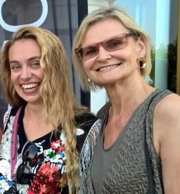 Liliana Klein und Hedi Grager (www.hedigrager.com) (Foto Reinhard Sudy)