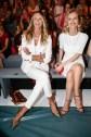 Prominente Gäste bei Marc Cain - die Supermodels Elle Macpherson und Eva Herzigova (Photo by Franziska Krug/Getty Images)