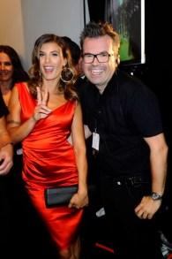Reinhard Mätzler hier mit Elisabetta Canalis bei der MINX by Eva Lutz Fashion Show (Foto: SuccoMedia / Ralf Succo)