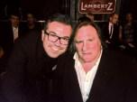 Reinhard Mätzler hier mit Gérard Depardieu.