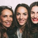 Auch Ela Hirschal, Schauspielerin Maddalena Hirschal und Lisa Haider ließen sich das Pre-Opening nicht entgehen ((c) Markus Mansi_MOMA Werbeagentur)