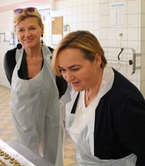 Christa Schlögl und Renate Polz