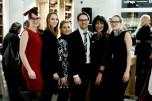Christian Potisk und Sabine Friedl, Nägele & Strubell, mit ihren Mitarbeiterinnen (Foto Eva Maria Guggenberger)
