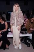 Blogger Xenia Overdose besuchte die Show des deutschen Designers Marcel Ostertag auf der Fashion Week New York (Photo by Brian Ach/Getty Images)