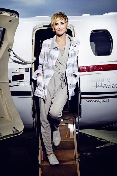 Sharon Stone shootete für AIRFIELD (Foto Kristian Schuller)